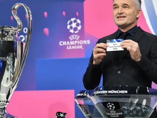 Ufficializzati i sorteggi dei quarti di Champions League