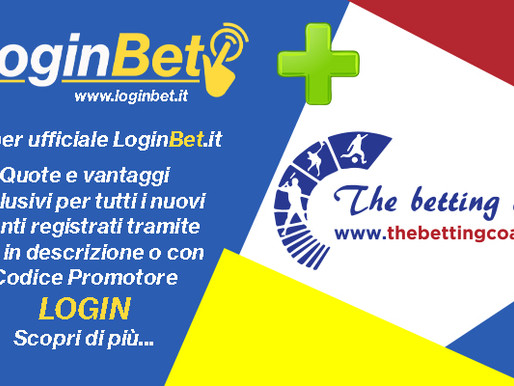 The Betting Coach premia i nuovi utenti LoginBet!