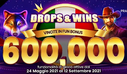 DROPS & WIN: al via la seconda edizione su Loginbet
