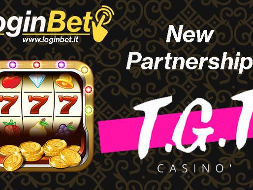 T.G.T Casino e LoginBet siglano una nuova partnership