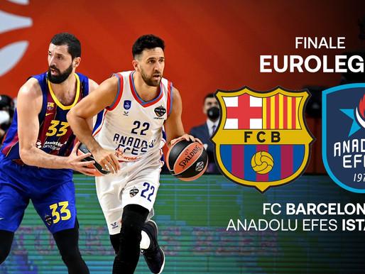 Basket Eurolega: EFES favorito nella filale contro Barcellona