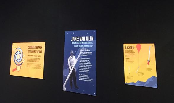 Rockoon and Van Allen Posters