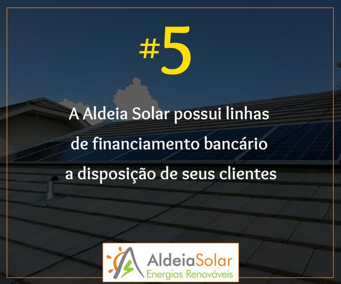 Motivos para confiar seu projeto fotovoltaico à Aldeia Solar