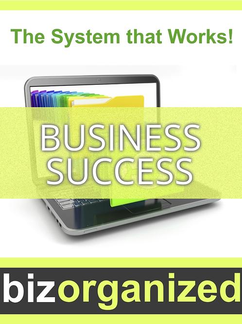 Business Success (Biz Organized)