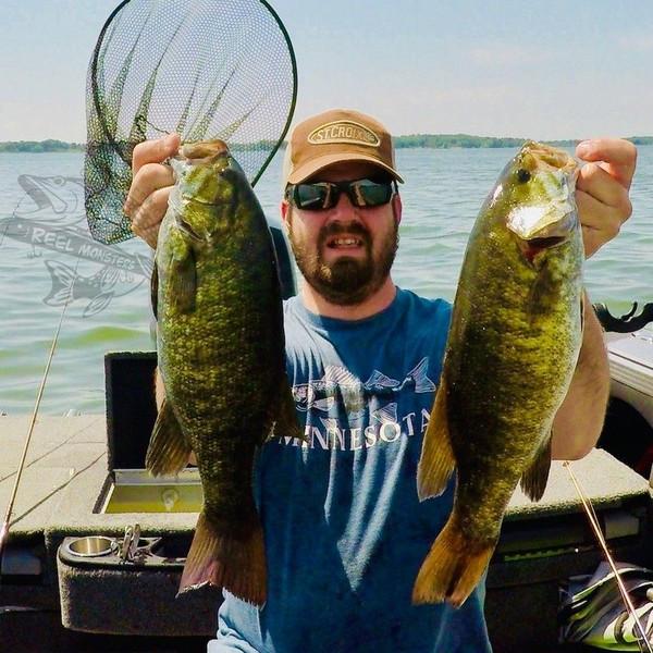 Pair of Lake Buffalo Small Mouth