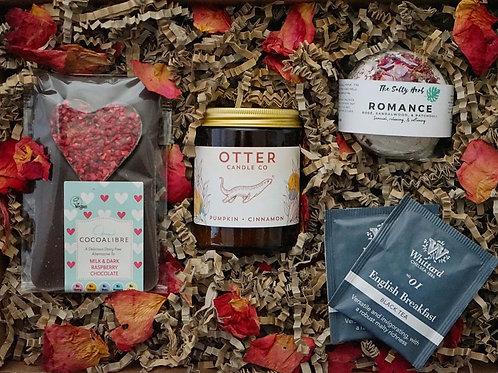 Give a Little Love - Amber jar