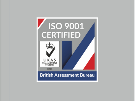 Capital Maintenance Ltd achieve ISO 9001:2015 Certification