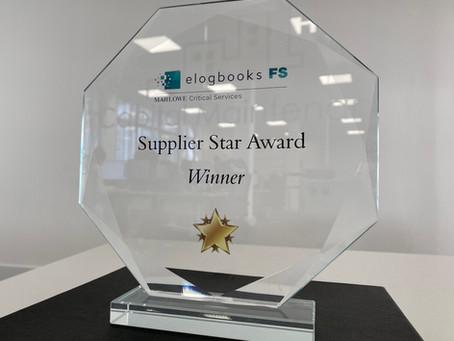 Supplier Star Award, Elogbooks