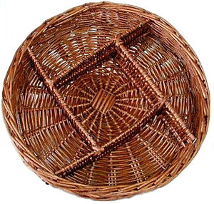 E Brown Basket