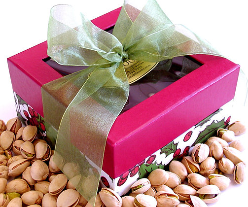 Holly Berry Pistachio Gift Box