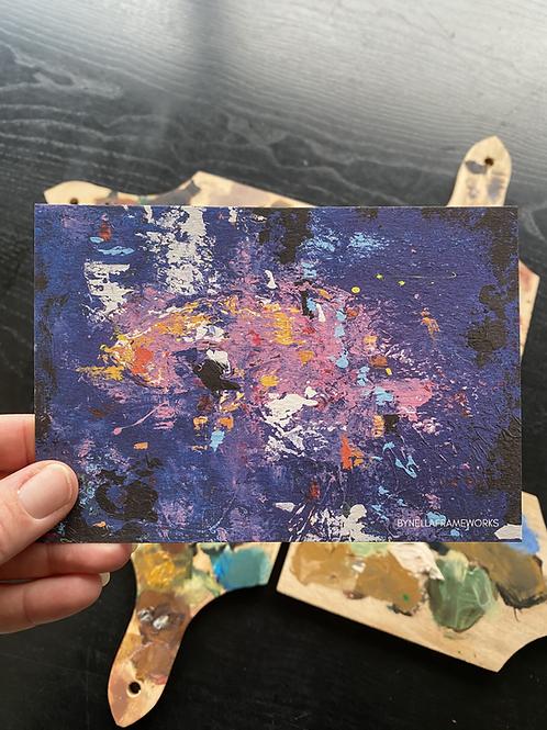 Postkaart met envelop