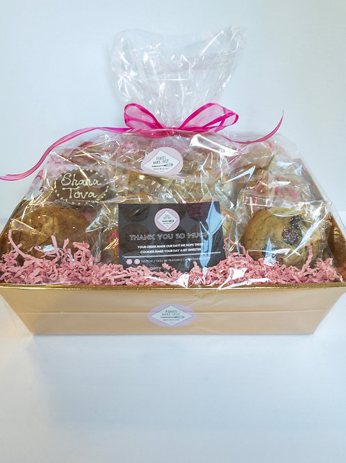 Large Cookie Gift Basket For Rosh Hashanah