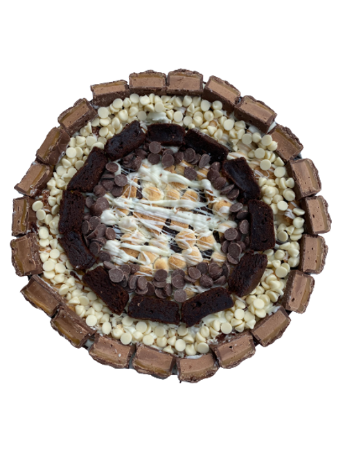 Campfire S'mores Cookie Cake