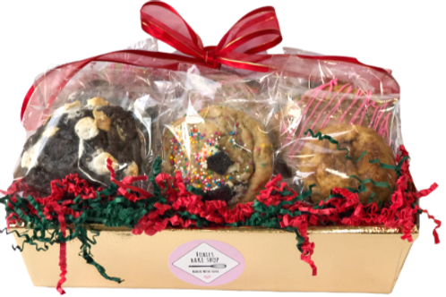 Large Holiday Cookie Gift Basket
