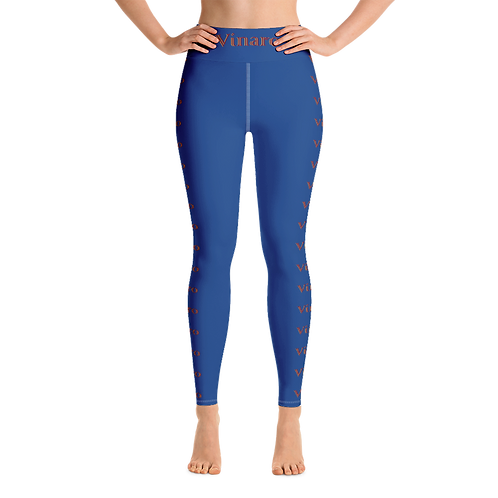 Vinaro Women Yoga Leggings Blue