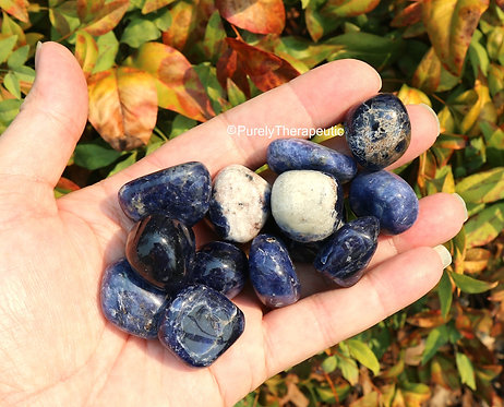 Sodalite Crystal Gemstone