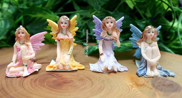 Enchanted Fairy Figurines-Set of 4-S3