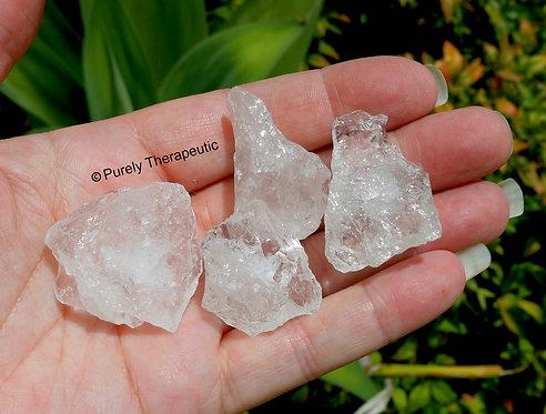 Clear Quartz Raw Pieces Gemstone Crystal