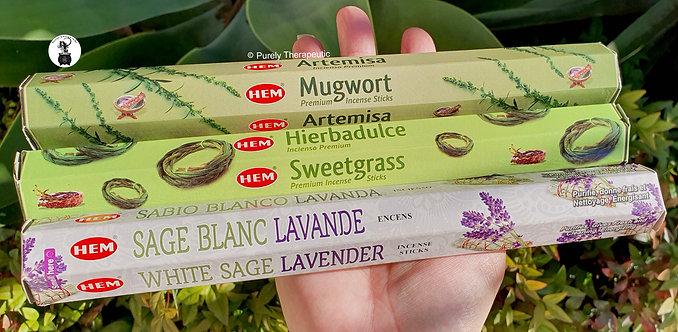 Mugwort_Sweetgrass_White_Sage_Lavender_Hem_Incense_Sticks
