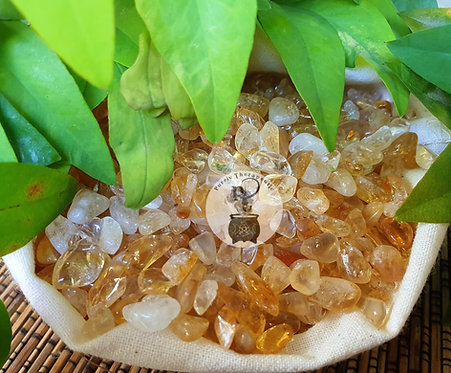 Citrine Crystal Chips