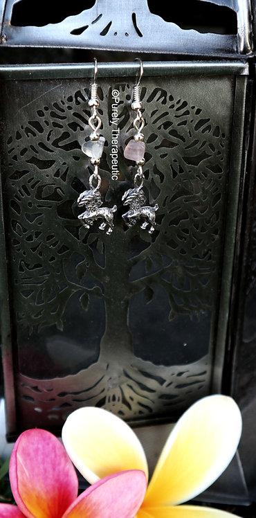 Capricorn Zodiac Star Sign Earrings