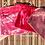 Velvet Handmade Pouch Pink
