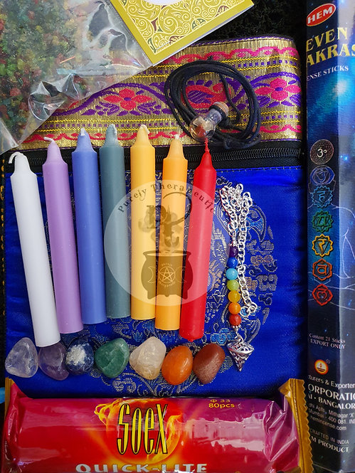 Chakra Healing Holistic Pack Set