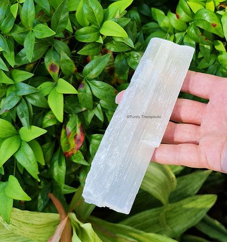 Selenite Raw Gemstone Crystal Charging Plate