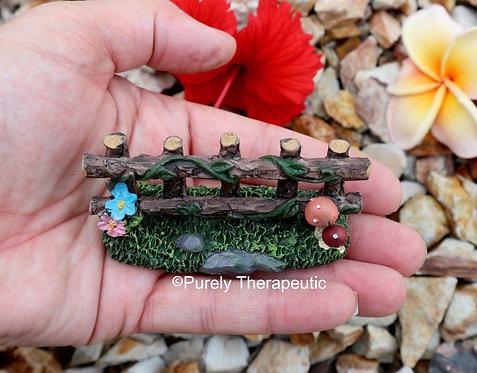 Miniature Wooden Garden Fence