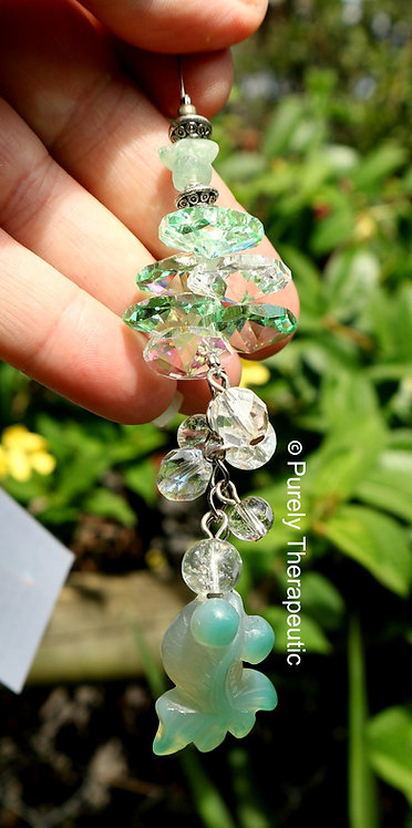 Goldfish Green Aventurine Gemstone Crystal