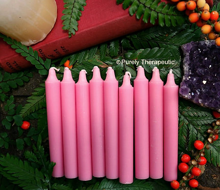 Pink Wish Spell Ritual Candles