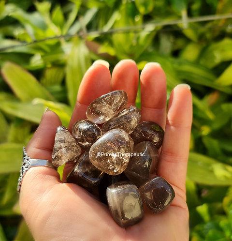 Smokey Smoky Quartz Crystal Gemstone