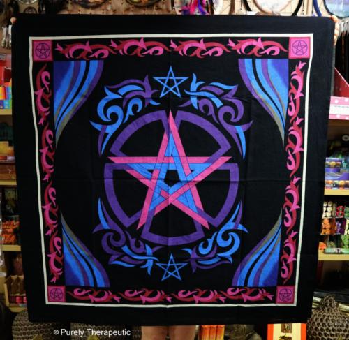 Pentagram Pentacle Altar Cloth