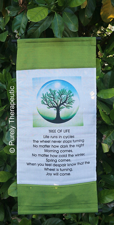 Tree of Life Affirmation Scroll