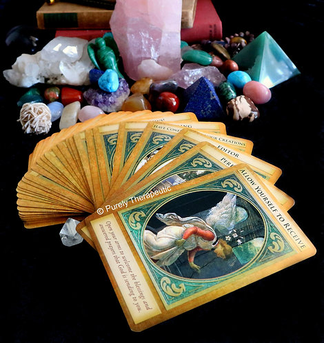 Archangel Gabriel Card Tarot Oracle Reading
