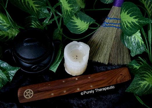 Pentagram Incense Burner Holder