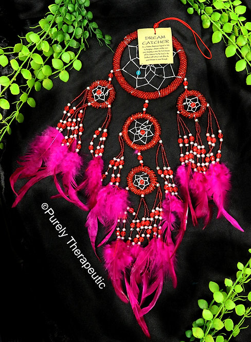 Red Dream Catcher