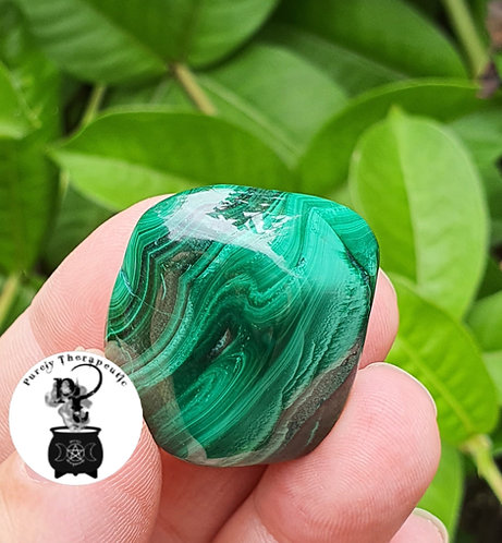 Malachite Gemstone Crystal