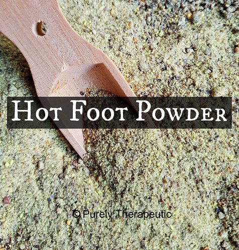 witches hot foot powder spell wicca purely therapeutic
