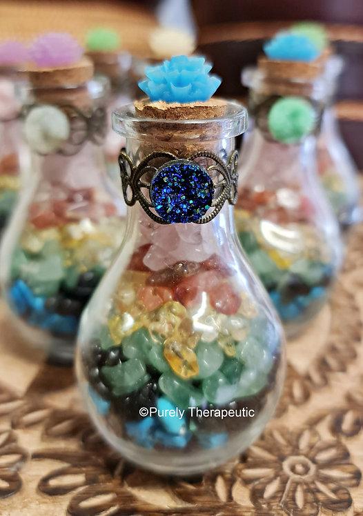 chakra healing bottle