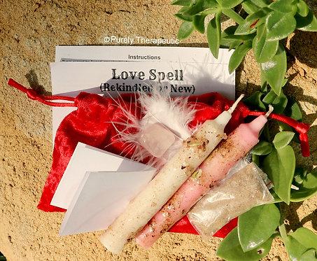 Love Spell Kit for finding love