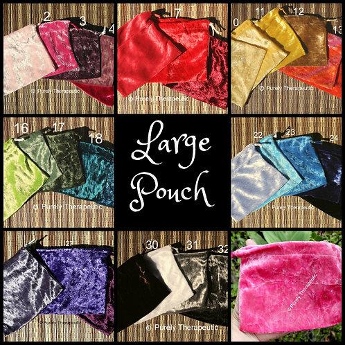 Handmade Drawstring Bag Pouches