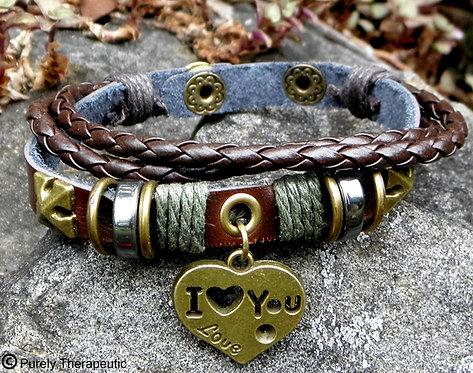 Viking Wristband Love