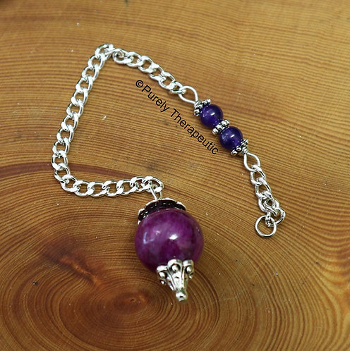 Purple Jade Pendulum