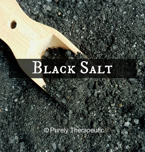 Witches Black Salt Spell Purely Therapeutic Apothecary