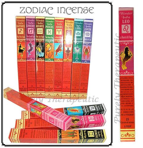 Wonder India Zodiac Incense Sticks~LEO