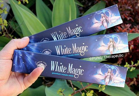 White Magic Incense Sticks Green Tree