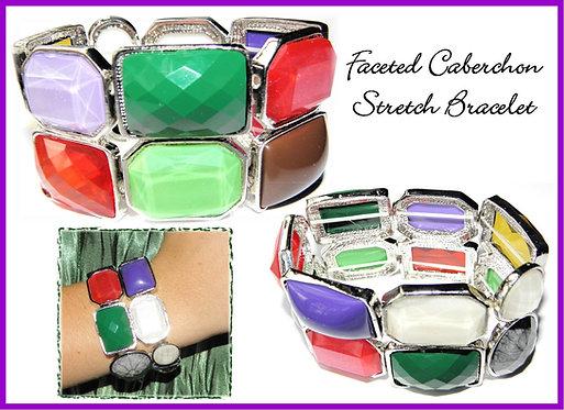 Rhinestone Caberchon Bracelet