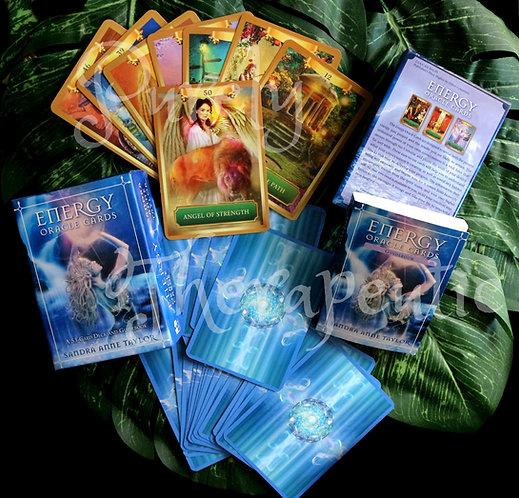 Sample of card deck Energy Oracle