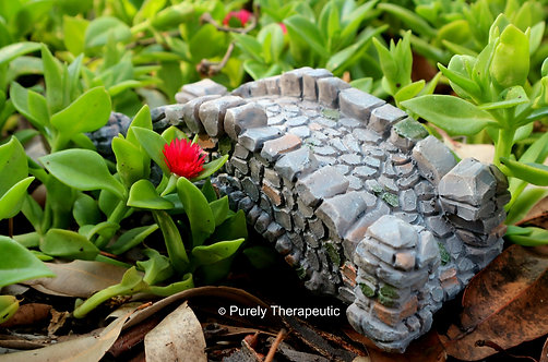 Fairy Garden Ornament Resin Stone Bridge